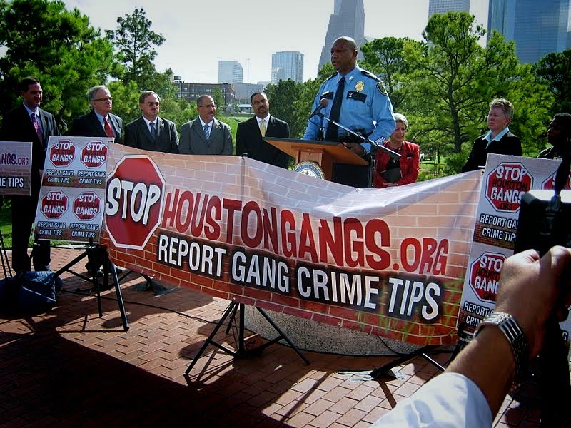 Houston Police Dept Press Conference